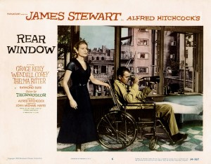 la ventana indiscreta poster